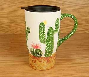 Rockville Cactus Travel Mug