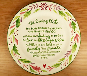 Rockville The Giving Plate