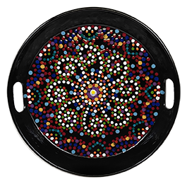 Rockville Mosaic Mandala Tray