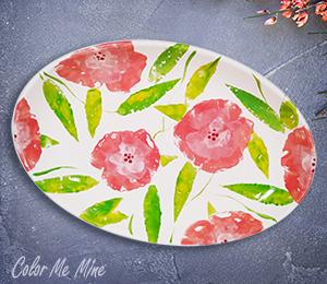 Rockville Floral Paper Stamping