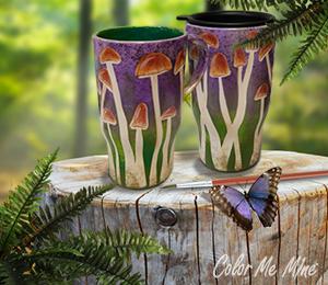 Rockville Mushroom Mugs