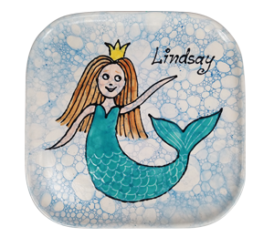 Rockville Mermaid Plate