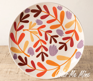 Rockville Fall Floral Charger