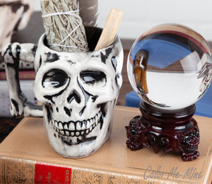 Rockville Antiqued Skull Mug